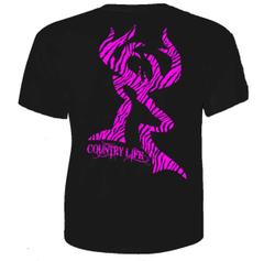 Country Life Zebra Short Sleeve - T-Shirt