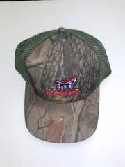 Camouflage Hat with Southern Style Girl