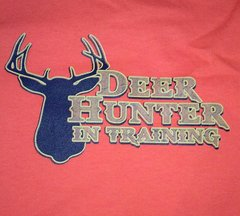 Deer Hunter in Training-Orange 50/50 Infant T-Shirt