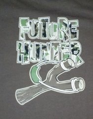 Brown Infant T-Shirt-Future Hunter