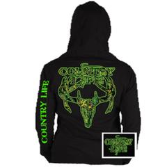 Country Life Hoodie-Skull