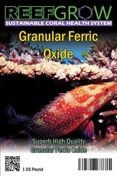 GFO Granular Ferric Oxide 1 LB