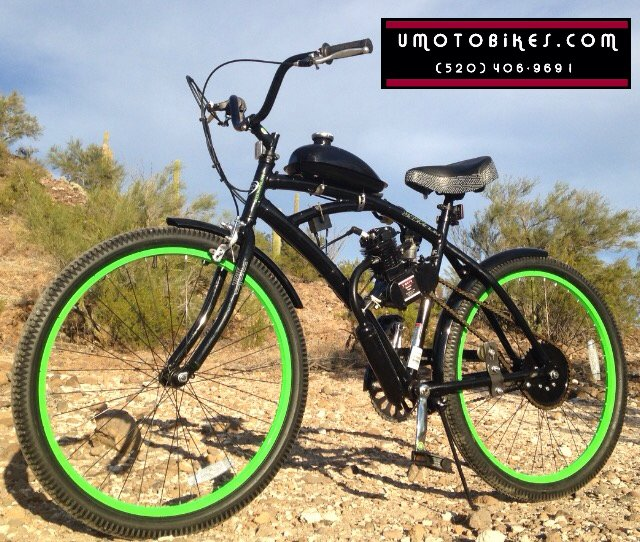 Contact u moto motorized bicycles u moto bicycle motor for Motorized bicycle repair shop