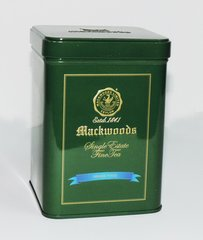MACKWOODS SINGLE ESTATE ORANGE PEKOE TEA CADDY