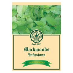 MACKWOODS PEPPERMINT INFUSIONS 25 EVELOPED TEA BAGS