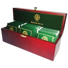 WOODEN TEA TRAY (3 COMPARTMENT)