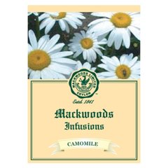 MACKWOODS CAMOMILE INFUSIONS 25 EVELOPED TEA BAGS