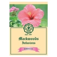 MACKWOODS HIBISCUS INFUSIONS 25 EVELOPED TEA BAGS
