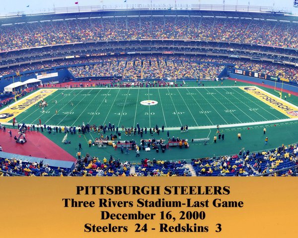 53 Three Rivers Stadium Last Game 11x14 Photo