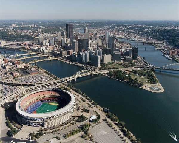 39 City Of Pittsburgh Three Rivers Stadium Size 11x14