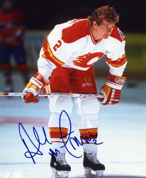 Al Macinnis Calgary Flames Signed 8x10 Photo