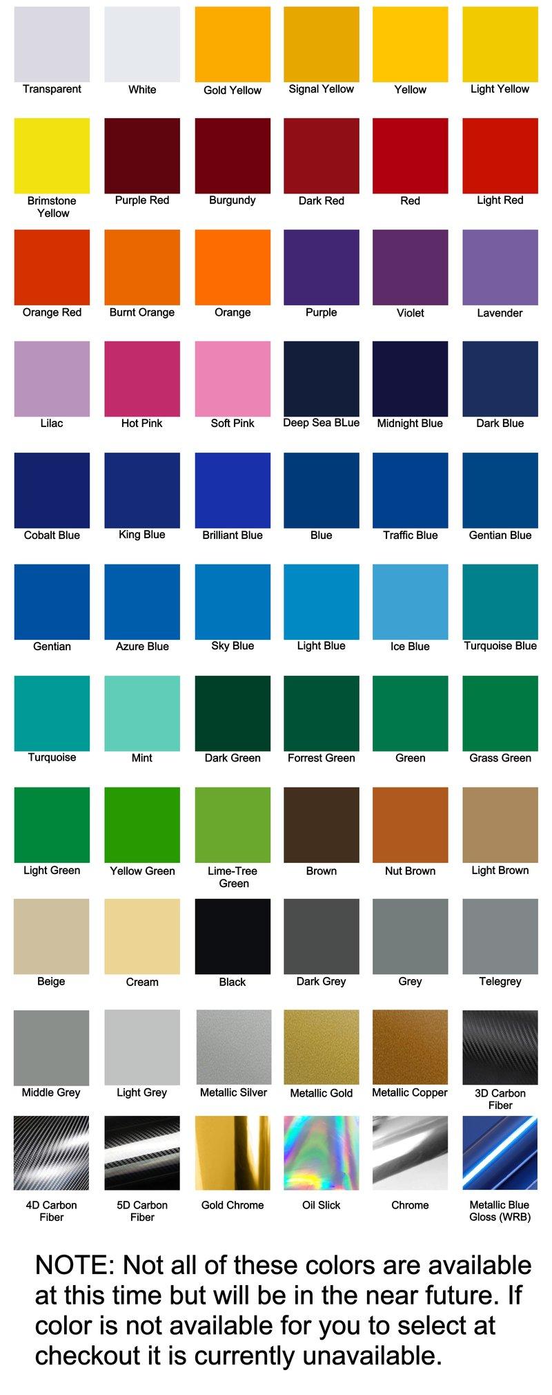 Color chart emblem overlays nvjuhfo Images