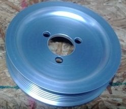 "Ribbed Serpentine Water Pump Pulley (""G60 Style"")"