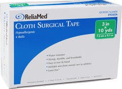 "Surgical Tape Cloth, 3""x10 Yds"