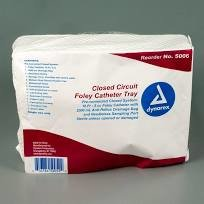 Closed Circuit Foley Catheter Tray