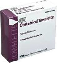 Obsterical Towelettes