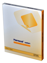 "Pharmacoll Thin Hydrocolloid Dressing (4""x4"") (Case)"