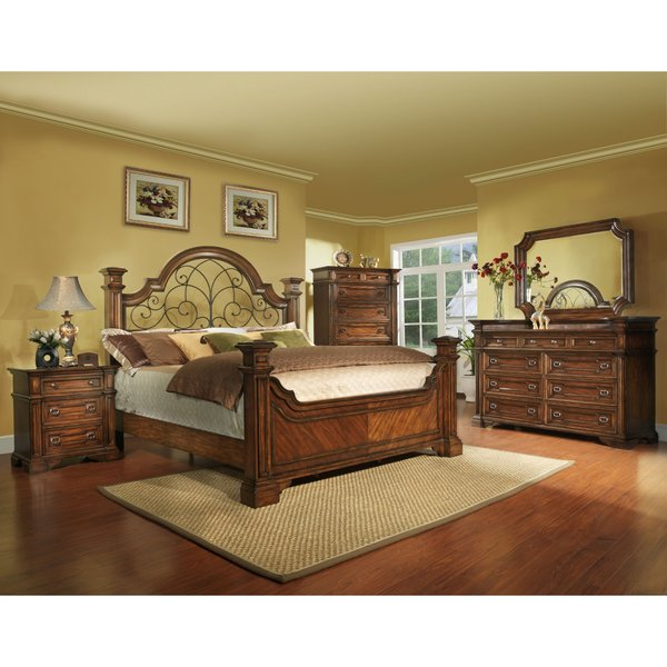 Highland ridge bed king size bed frame only american dream home furnishings charlotte American home furniture bed frames