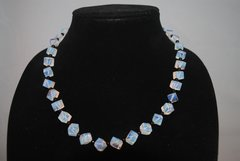 Sri Lanka Moonstone and Onyx Necklace