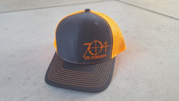 704 Outdoors Mesh Back- Snap Back Hat