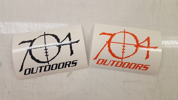 704 Outdoors decal