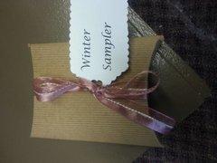 Winter Sampler in a box
