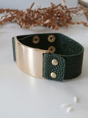 stingray cuff forest green