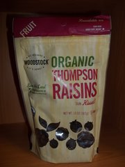Woodstock Organic Thompson Raisins 13oz