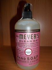 Meyers clean day hand soap Rosemary w/olive oil & aloe vera 12.5 fl oz