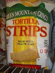 Green Mountain Gringo Tortilla strips gluten free Non GMO