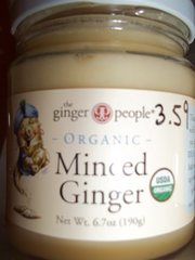 Minced ginger organic
