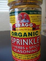 Bragg Organic Sprinkle 24 Herbs and Spices Seasoning -- 1.5 oz