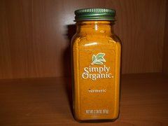 Simply Organic Ground Tumeric Root 2.38oz