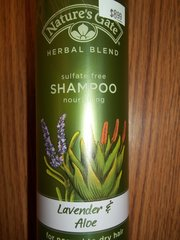 Nature's Gate Shampoo Lavender and Aloe -- 12 fl oz