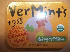 Vermints Gingermint organic mints 1.41 oz