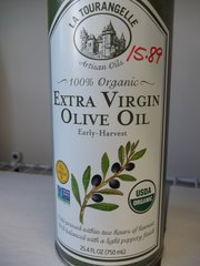 La Tourangelle Extra Virgin Olive Oil 100% organic 25.4 fl oz