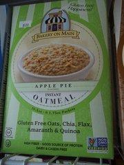 Bakery On Main Instant Oatmeal Gluten Free Apple Pie -- 6 Packets
