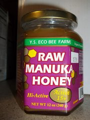 Y.S. Eco Bee Farms Raw Manuka Honey active 15+