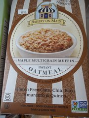 Bakery On Main Instant Oatmeal Gluten Free Maple Multigrain Muffin -- 6 Packets