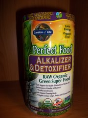 Garden of Life alkalizer & detoxifier Raw Organic Green Super Food
