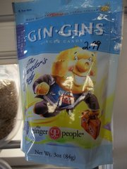 Gin Gins ginger candy super strength 3 oz