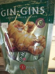 Gin Gins chewy originals ginger candy 3 oz