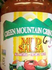 Green Mountain Gringo Mild Salsa gluten free, Non GMO 16 oz.