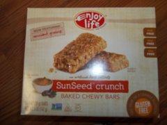 Enjoy Life sun seed crunch bar Dairy free, nut free, soy free, gluten free.