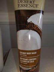Desert Essence Body Wash Coconut -- 8 fl oz