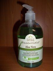 clearly natural pure & natural glycerin hand soap Aloe Vera 12 fl oz