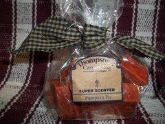 Thompsons pumpkin pie scented tarts