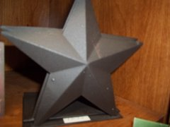 Star bookends Brown
