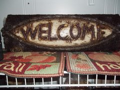 "20"" welcome Sign"