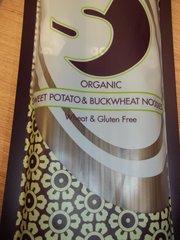 Kingsoba Organic Sweet potato & buckwheat noodles wheat & gluten free